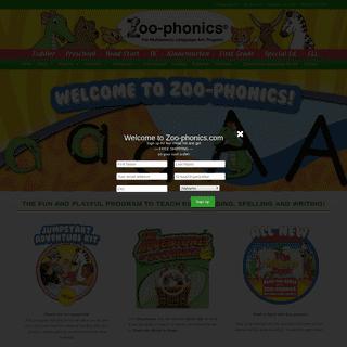 Zoo-phonics - The Multisensory Language Arts Program
