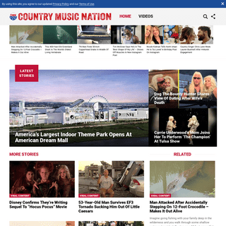 Country Music Nation – Country Music Nation delivers news and videos to the world's largest Country music community!