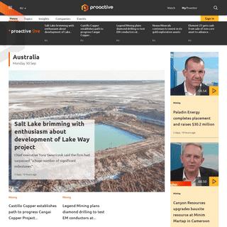 ArchiveBay.com - proactiveinvestors.com.au - Leading source of Financial News, Investor Forums, CEO Interviews, Financial Columnists, Stock Information