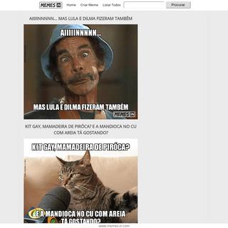 MEMES-IN - Crie seus memes