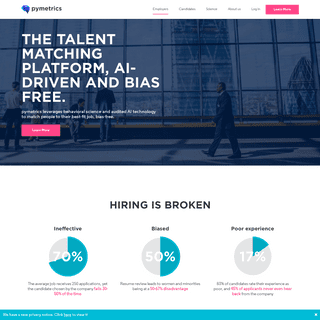 ArchiveBay.com - pymetrics.com - pymetrics - matching talent to opportunity