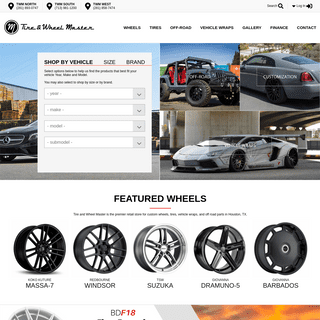 Tire & Wheel Master