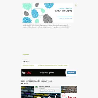ArchiveBay.com - todo-en-java.blogspot.com - PROGRAMACIÓN TODO EN JAVA