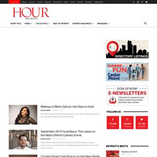 Home - Hour Detroit Magazine