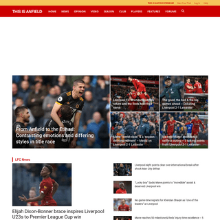 Liverpool FC This Is Anfield - LFC News, Videos and Opinion