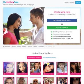 Dating for ladyboys and nice guys - My Ladyboy Date