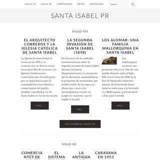 Santa Isabel PR – Tierra de campeones