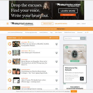 ArchiveBay.com - elephantjournal.com - elephant journal- Yoga, Sustainability, Politics, Spirituality.