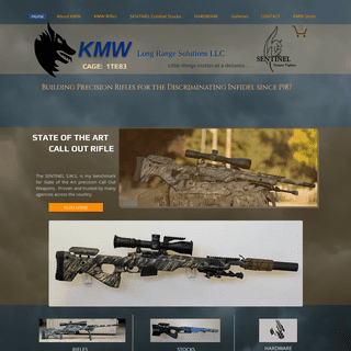 KMW . . builder of awesome rifles.