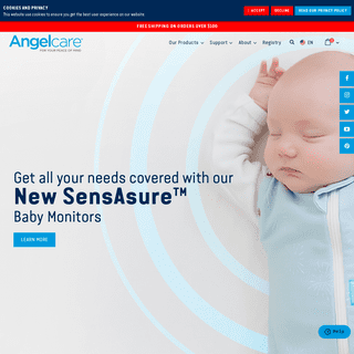 Angelcare - Baby Monitors and Baby Bath Products