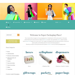 Paper Packaging Place – The Boutique Packaging Specialists