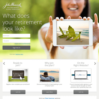 ArchiveBay.com - jhancockpensions.com - John Hancock - Sign In-Enroll Now.