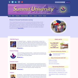 Summit University, Teachings of the Ascended Masters
