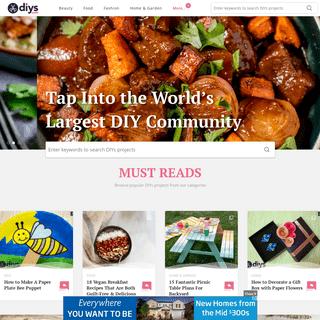Community of Creative Crafters - DIYS.com