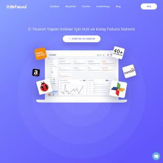 ArchiveBay.com - birfatura.com - E-Ticaret İçin Kolay ve Entegre Fatura Çözümü