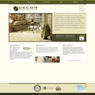 ArchiveBay.com - decorsc.com - Home Page - Décor Flooring, LLC