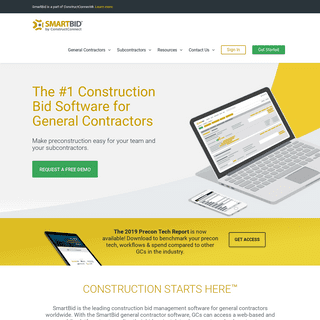 Construction Bidding Software. Bid Management Starts Here. - SmartBid