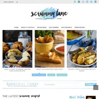 Scrummy Lane - Quick & easy family friendly recipes