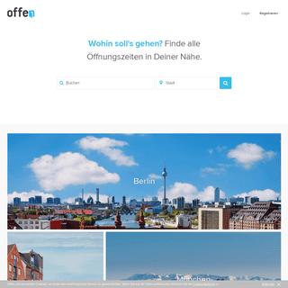 Finde die Besten auf Offen - Offen.net