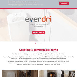 ArchiveBay.com - dimplex.co.uk - Electric heating and air treatment for the home from Dimplex