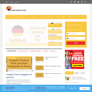 ArchiveBay.com - learngermancoach.com - Reviews & Culture Info for German Learners & Enthusiasts