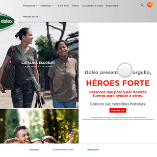 dolex Colombia - Alivio y manejo del dolor, fiebre y gripa