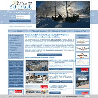 Skihotels mit Wellness - Wellness- & Skiurlaub in Österreich