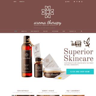 AromaTherapy Albania – AromaTherapy Store With Organic Essential Oils