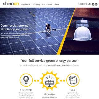 ArchiveBay.com - shine-on.com.au - Commercial Lighting, Industrial Lighting, Led Lighting, Energy Efficient Lighting Solutions - Melbourne