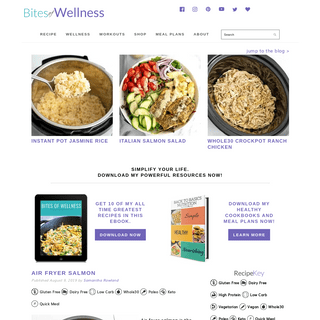 Easy, Quick & Gluten-Free Recipes & Wellness Resources - Bites of Wellness