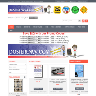 PosterEnvy - Classroom, Motivational & Educational Posters