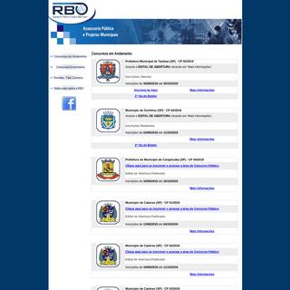 RBO - Concursos Públicos