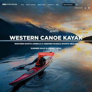 Canoes For Sale Canada - Kayaks For Sale - Kayak Rentals - Western Canoe Kayak