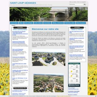 ArchiveBay.com - saint-loup-geanges.fr - Saint Loup Géanges - SAINT LOUP GÉANGES