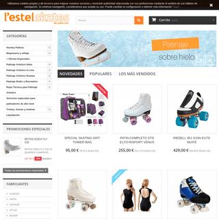 Lestelskates tienda online de patinaje artístico, hockey y skate en Barcelona - L'Estel Skates de Carlos Mur- Tienda de Patinaj