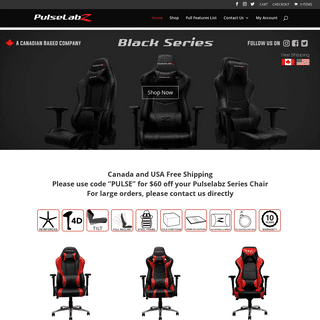 Pulselabz - Vancouver Based - Best Office Chair - Gaming Chair