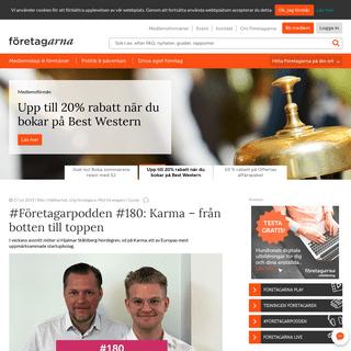 Företagarna - Sveriges största företagarorganisation - Företagarna