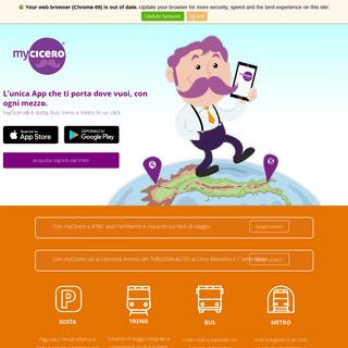 [myCicero] L'unica app che ti porta dove vuoi.