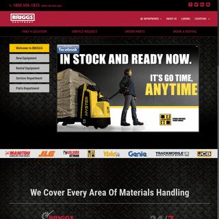 Briggs Equipment - Materials Handling Solutions