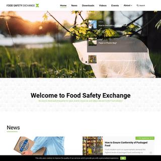 ArchiveBay.com - foodsafetyexchange.com - FOOD SAFETY EXCHANGE - Food-safety standard, scandals, fraud