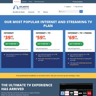 Best Internet, TV, Phone & WiFi Services - Atlantic Broadband