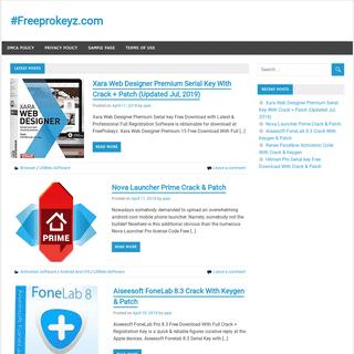 #Freeprokeyz.com – Free Pro Software with Crack and Key