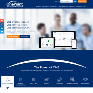 OnePoint Human Capital Management Solutions