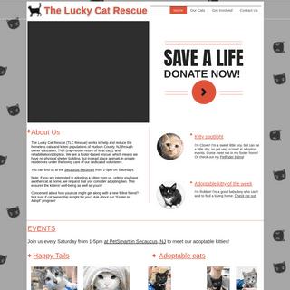 The Lucky Cat Rescue - TLC Rescue (NJ)