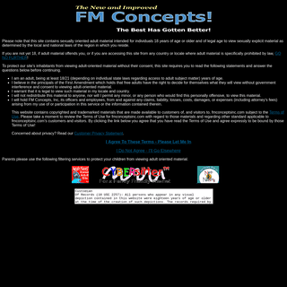 Welcome to The New FM Concepts Foot Site