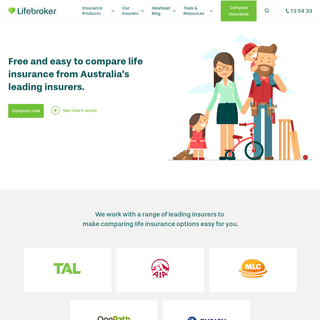 Lifebroker - Compare Life Insurance from Australia's Leading Insurers