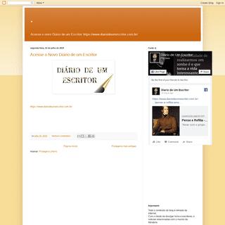 A complete backup of blogdiariodeumescritor.blogspot.com