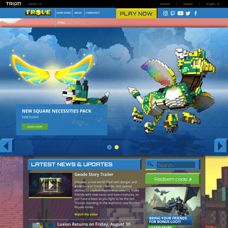 Trove - A Voxel MMO Adventure from Trion Worlds