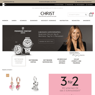 Christ - Homepage