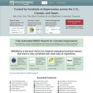 Medical Marijuana Dispensary Management Software System - mmjmenu